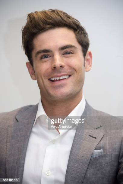 Zac Efron at The Greatest Showman Press Conference at the Four Seasons Hotel on November 28 2017 in Beverly Hills California