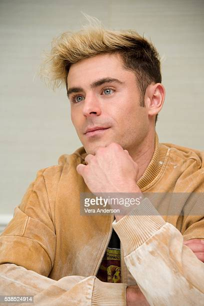 Zac Efron at the 'Mike and Dave Need Wedding Dates' Press Conference at the London Hotel on June 6 2016 in West Hollywood California
