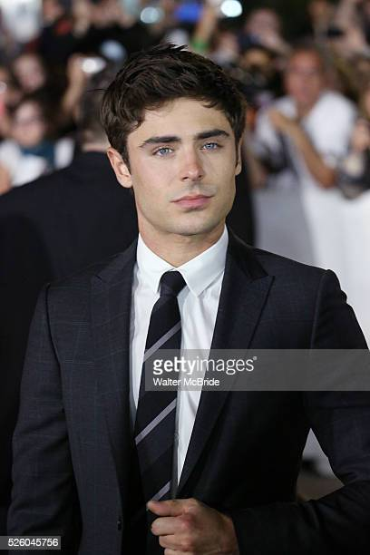 Zac Efron attending the 2013 Tiff Film Festival Red Carpet arrivals for Parkland at The Roy Thomson Hall Theatre on September 6, 2013 in Toronto,...