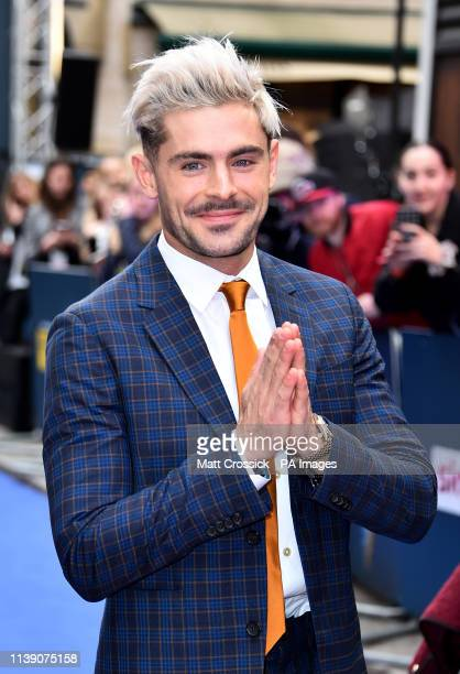 Zac Efron attending the Extremely Wicked, Shockingly Evil and Vile European Premiere held at the Curzon Mayfair, London.
