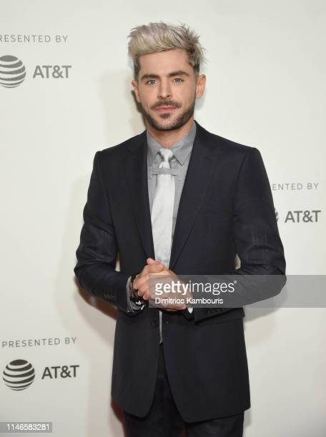 """Zac Efron attends """"Extremely Wicked, Shockingly Evil And Vile"""" - 2019 Tribeca Film Festival at BMCC Tribeca PAC on May 02, 2019 in New York City."""