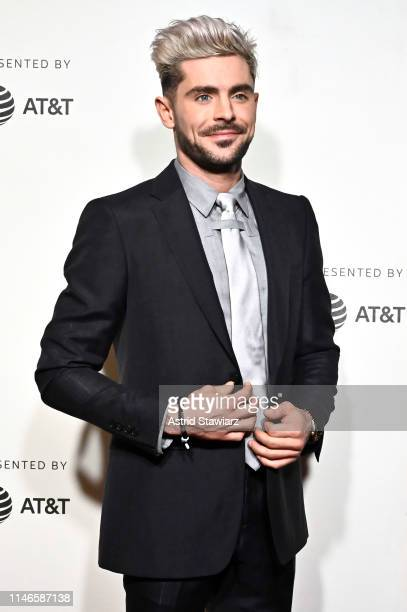 """Zac Efron attends Netflix's """"Extremely Wicked, Shockingly Evil and Vile"""" Tribeca Film Festival Premiere at BMCC Tribeca Performing Arts Center on May..."""