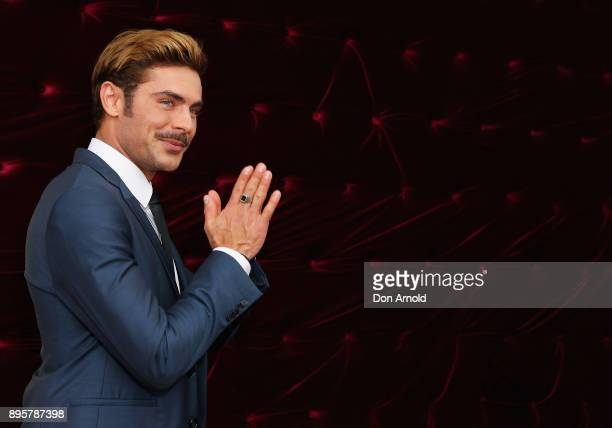 Zac Efron attends the Australian premiere of The Greatest Showman at The Star on December 20, 2017 in Sydney, Australia.