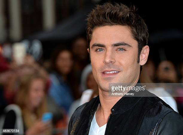 Zac Efron attends the European Premiere of 'We Are Your Friends' at Ritzy Brixton on August 11 2015 in London England