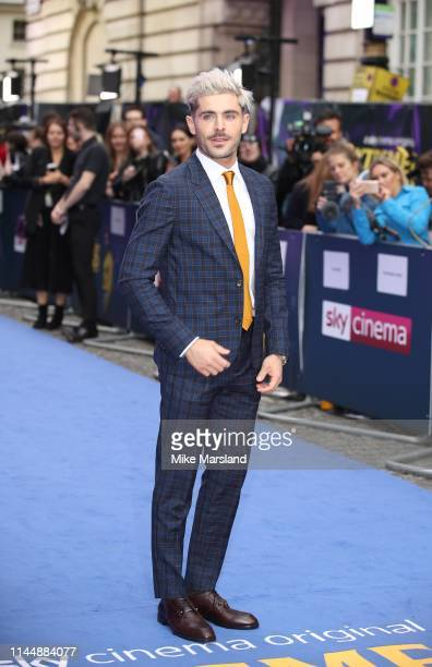 """Zac Efron attends the """"Extremely Wicked, Shockingly Evil and Vile"""" European premiere at The Curzon Mayfair on April 24, 2019 in London, England."""