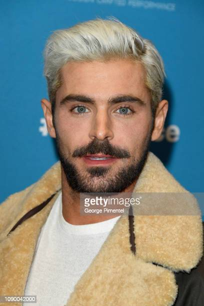 Zac Efron attends the Extremely Wicked Shockingly Evil And Vile Premiere during the 2019 Sundance Film Festival at Eccles Center Theatre on January...
