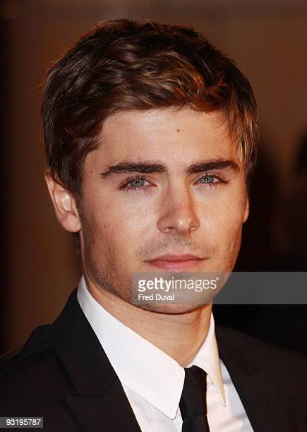Zac Efron attends the UK Film Premiere of 'Me & Orson Welles' at Vue West End on November 18, 2009 in London, England.