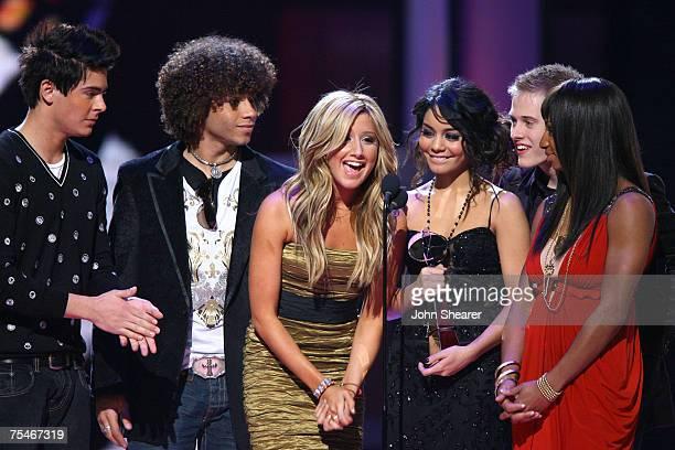 Zac Efron Corbin Bleu Ashley Tisdale Vanessa Hudgens Lucas Grabeel and Monique Coleman of High School Musical winner Soundtrack Album