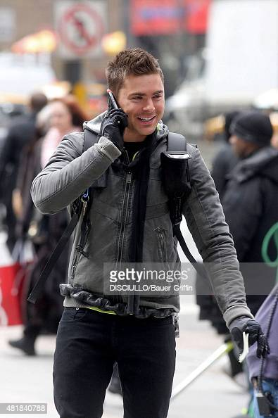 Zac Efron Is Seen On The Movie Set Of New Years Eve On February 24 News Photo Getty Images