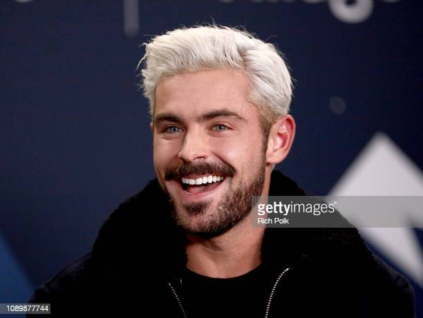 Zac Efron of 'Extremely Wicked Shockingly Evil and Vile' attends The IMDb Studio at Acura Festival Village on location at The 2019 Sundance Film...