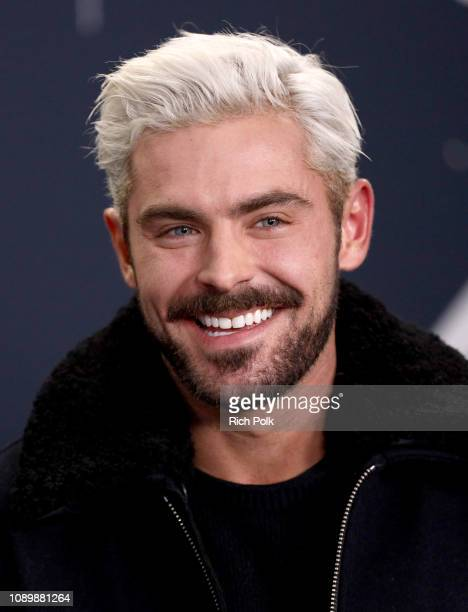 Zac Efron of 'Extremely Wicked, Shockingly Evil and Vile' attends The IMDb Studio at Acura Festival Village on location at The 2019 Sundance Film...