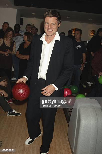 Zac Goldsmith attends the launch party of All Star Lanes a new Americanstyle bowling alley diner and bar located in Central London in Bloomsbury...