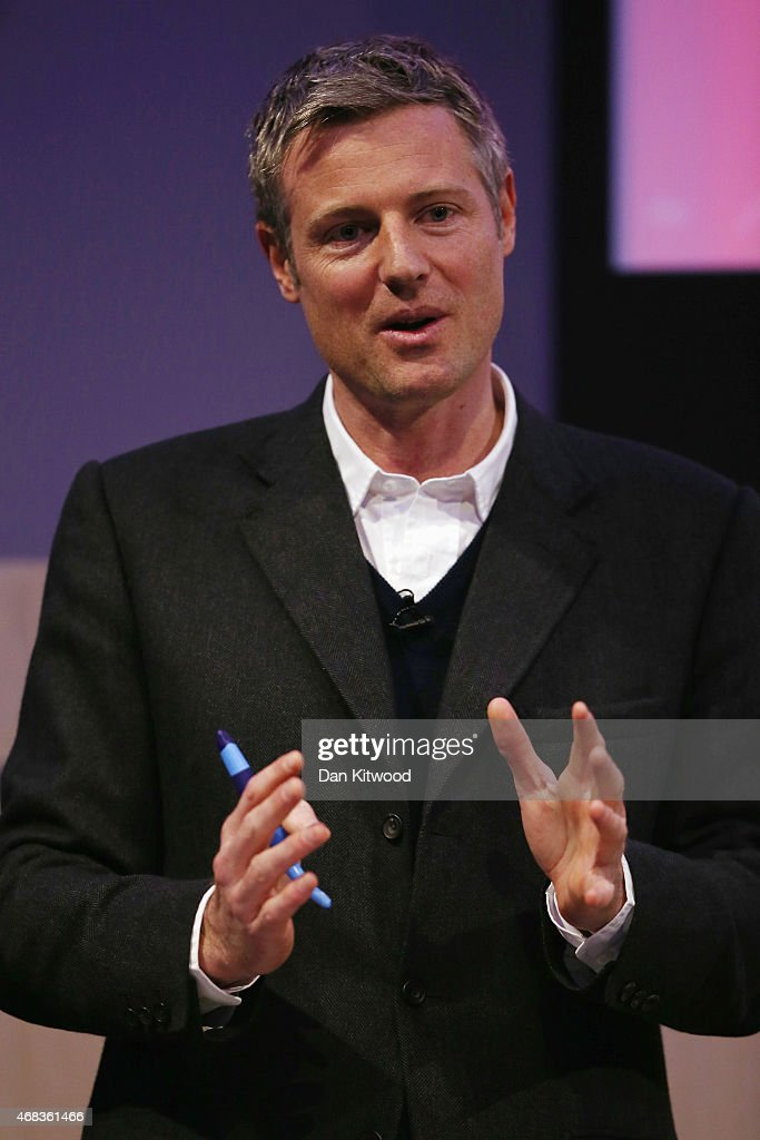 Conservative Zac Goldsmith Gives Talk On Transforming Politics In The UK