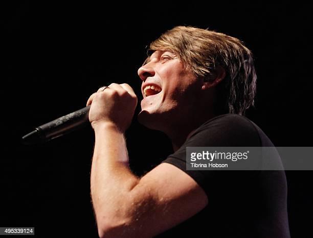Zac Hanson of Hanson performs at The Fonda Theatre on November 1 2015 in Los Angeles California