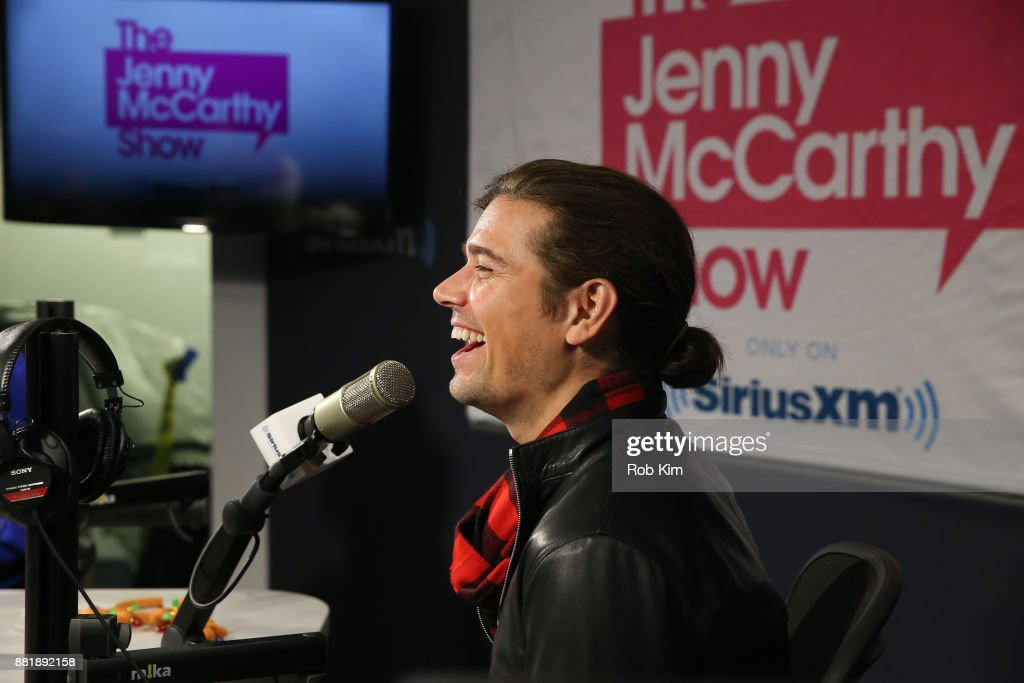 Zac Hanson of the band Hanson appears on 'The Jenny McCarthy Show' at SiriusXM Studios on November 29, 2017 in New York City.