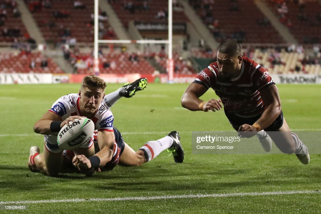 NRL Rd 13 - Dragons v Roosters : News Photo
