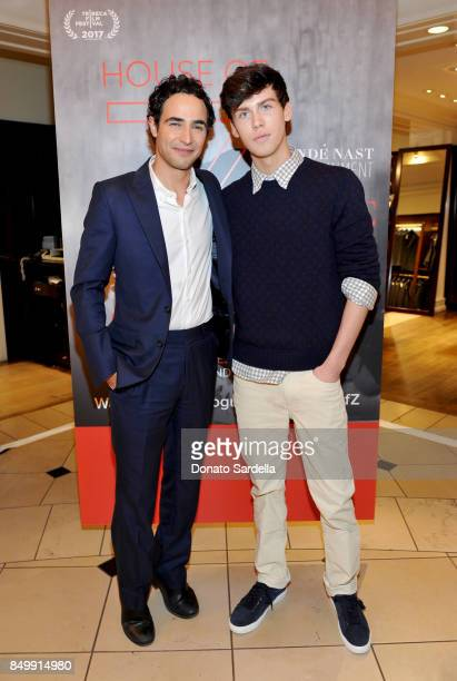 Zac Posen and Aidan J Alexander at Brooks Brothers and Vogue with Lisa Love And Zac Posen Host A Special Screening Event For 'House of Z' The Zac...