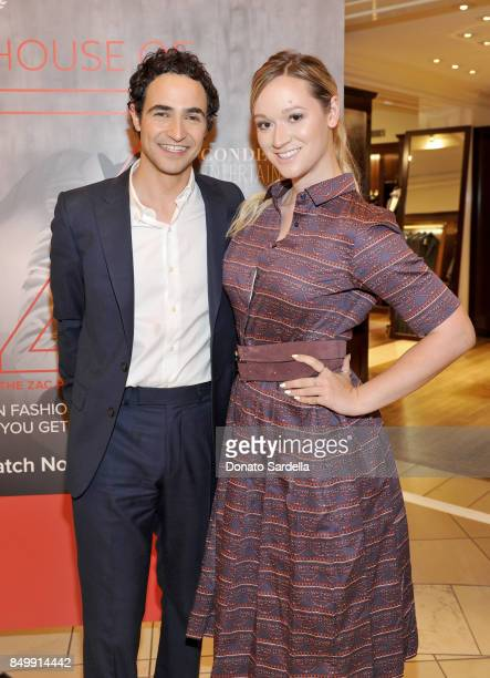 Zac Posen and Alisha Marie at Brooks Brothers and Vogue with Lisa Love And Zac Posen Host A Special Screening Event For House of Z The Zac Posen...
