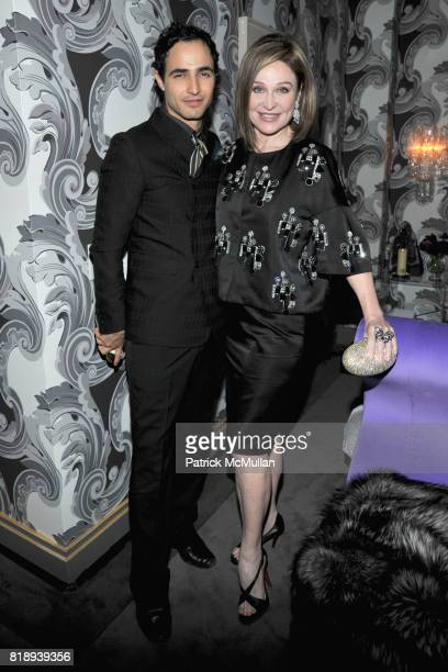 Zac Posen and Becca Cason Thrash attend Debut of 16W21 by ZAC POSEN at 16 West 21 Street on May 11 2010 in New York City