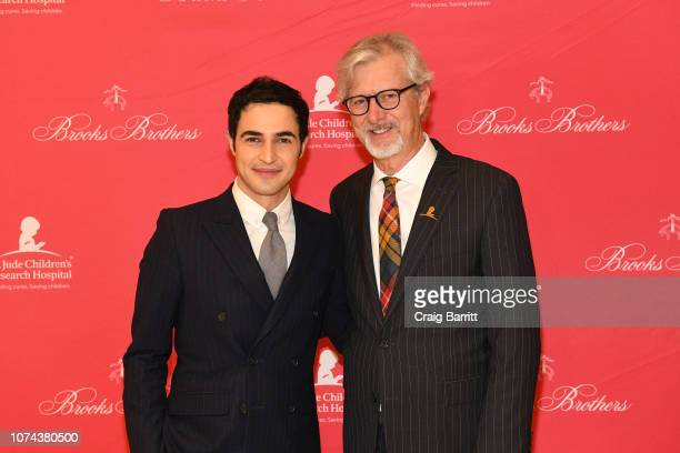 Zac Posen and Claudio Del Vecchio attend the Brooks Brothers And St Jude Children's Research Hospital Annual Holiday Celebration In New York City on...