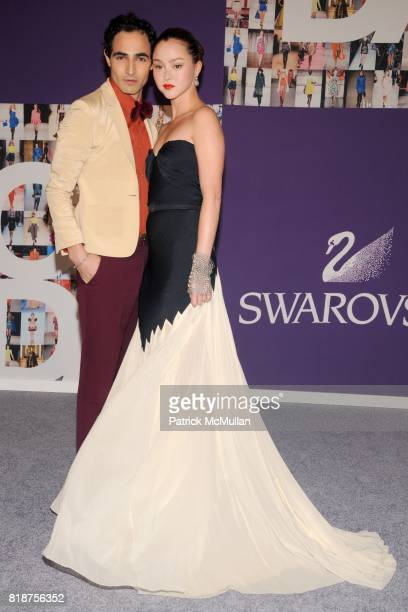 Zac Posen and Devon Aoki attend 2010 CFDA Awards Red Carpet at Alice Tully Hall at Lincoln Center on June 7 2010 in New York City