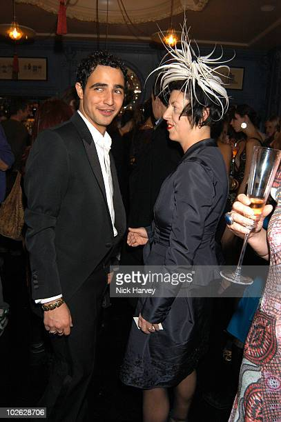 Zac Posen and Isabella Blow