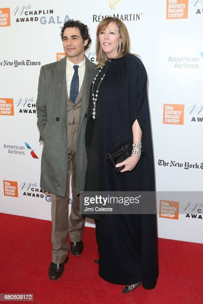 Zac Posen and Jane Rosenthal attend the 44th Chaplin Award Gala at David Koch Theatre Lincoln Center on May 8 2017 in New York City