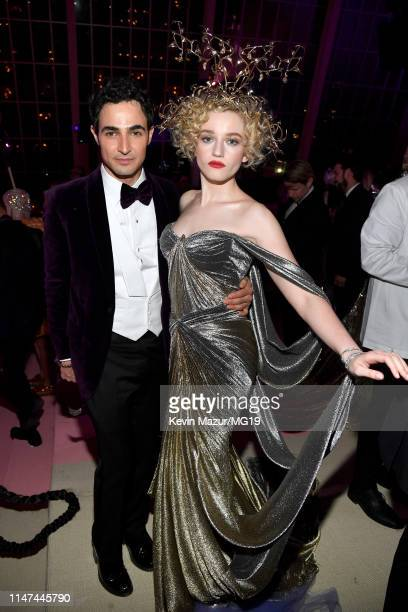Zac Posen and Julia Garner attend The 2019 Met Gala Celebrating Camp Notes on Fashion at Metropolitan Museum of Art on May 06 2019 in New York City