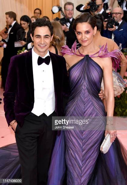 Zac Posen and Katie Holmes attend The 2019 Met Gala Celebrating Camp: Notes on Fashion at Metropolitan Museum of Art on May 06, 2019 in New York City.