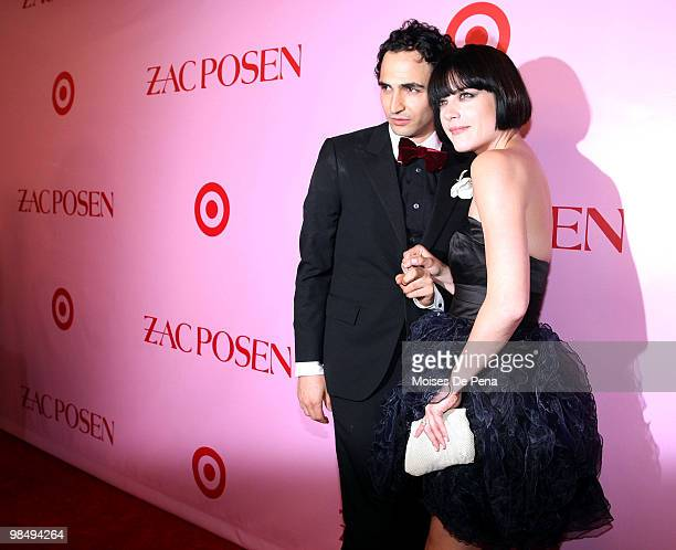 Zac Posen and Selma Blairattend the Zac Posen for Target Collection launch party at the New Yorker Hotel on April 15, 2010 in New York City.