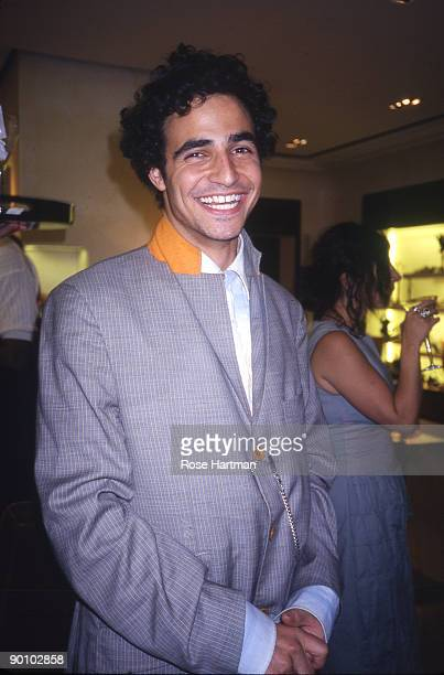 Zac Posen at Prada Boutique, NYC - 2000