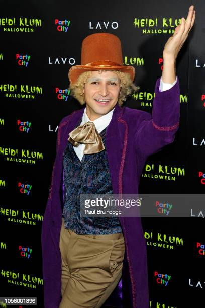 Zac Posen attends 2018 Heidi Klum Halloween Party at Lavo NYC on October 31 2018 in New York City