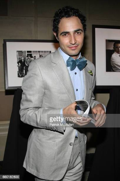 Zac Posen attends Celebrating Fashion Gala Awards Dinner to Support The GORDON PARKS Foundation at Gotham Hall on June 2 2009 in New York City