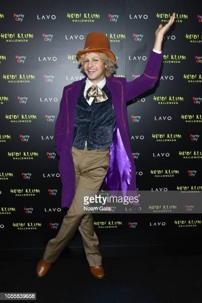 Zac Posen attends Heidi Klum's 19th Annual Halloween Party presented by Party City and SVEDKA Vodka at LAVO New York on October 31 2018 in New York...