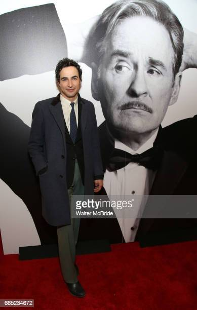 Zac Posen attends the Broadway Opening Night Performance of 'Present Laughter' at St James Theatreon April 5 2017 in New York City
