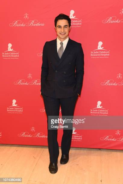 Zac Posen attends the Brooks Brothers And St Jude Children's Research Hospital Annual Holiday Celebration In New York City on December 18, 2018 in...