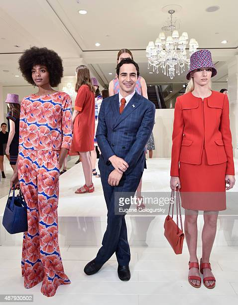 Zac Posen attends the Brooks Brothers SS 2016 Presentation With Zac Posen on September 12 2015 in New York City