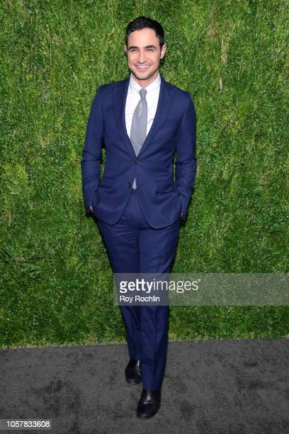 Zac Posen attends the CFDA / Vogue Fashion Fund 15th Anniversary Event at Brooklyn Navy Yard on November 5 2018 in Brooklyn New York