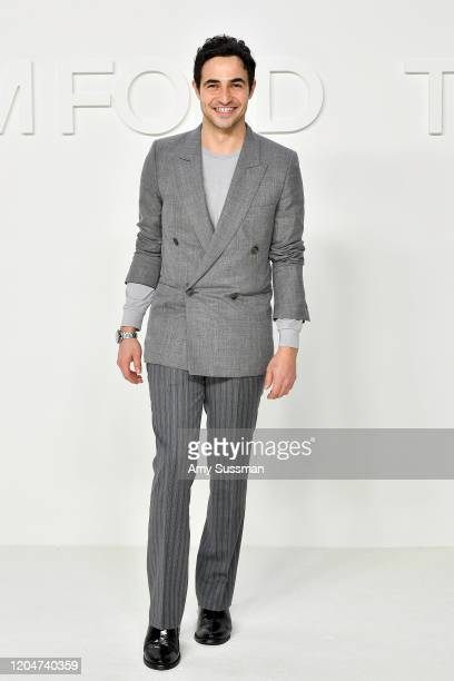 Zac Posen attends the Tom Ford AW20 Show at Milk Studios on February 07, 2020 in Hollywood, California.