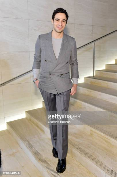 Zac Posen attends Tom Ford: Autumn/Winter 2020 Runway Show at Milk Studios on February 07, 2020 in Los Angeles, California.