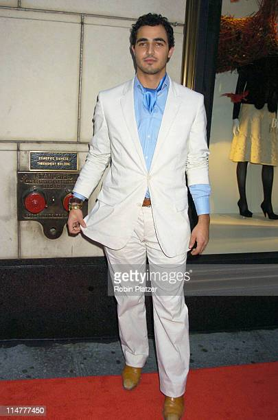 """Zac Posen during """"Lotsa de Casha"""" by Madonna Book Launch Party at Bergdorf-Goodman in New York - June 7, 2005 - Outside Arrivals at Bergdorf-Goodman..."""