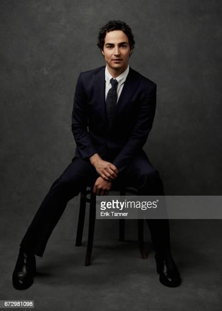 Zac Posen from 'House Of Z' poses at the 2017 Tribeca Film Festival portrait studio on on April 23 2017 in New York City