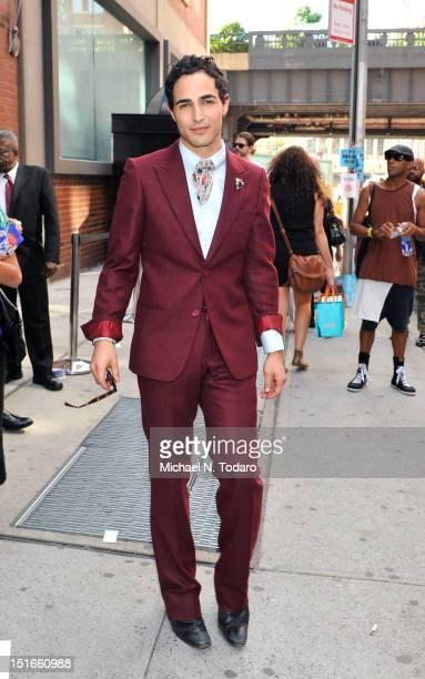 Zac Posen seen during Spring 2013 Mercedes-Benz Fashion Week at Milk Studios on September 9, 2012 in New York City.