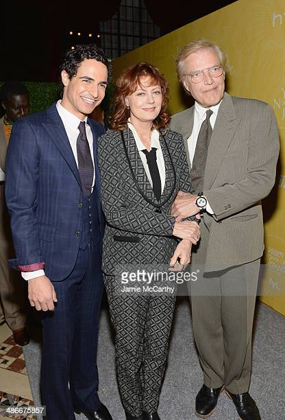 Zac Posen, Susan Sarandon and Peter Martins attend Variety Power Of Women: New York presented by FYI at Cipriani 42nd Street on April 25, 2014 in New...