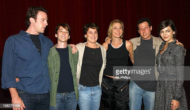 Zac Stanford Lou Taylor Pucci Bonnie Curtis producer Caroline Goodall Arie Posin director and Camilla Belle