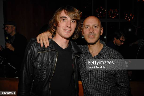 Zac Sunderland and David Kuhn attend Andre Balazs Saturday Night Party at Boom Boom Room on October 10 2009 in New York City