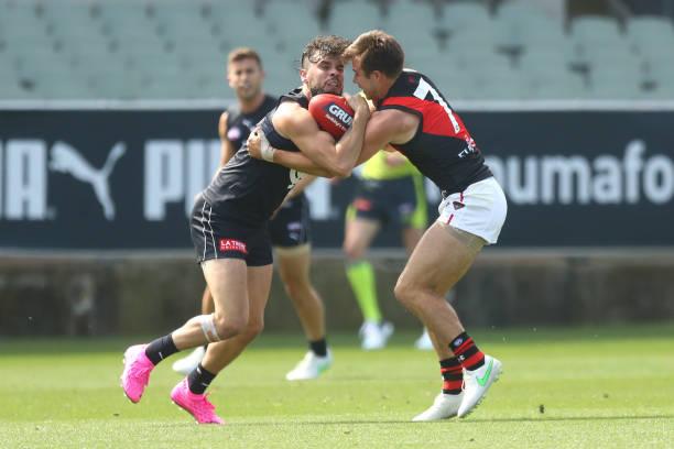 AUS: AFL Practice Match - Carlton v Essendon