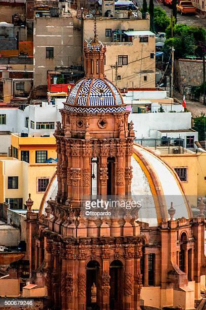 zacatecas cathedral - unesco stock-fotos und bilder