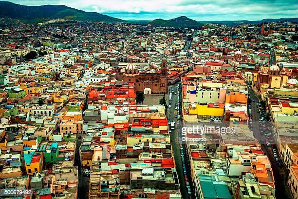 zacatecas landscape - unesco stock-fotos und bilder