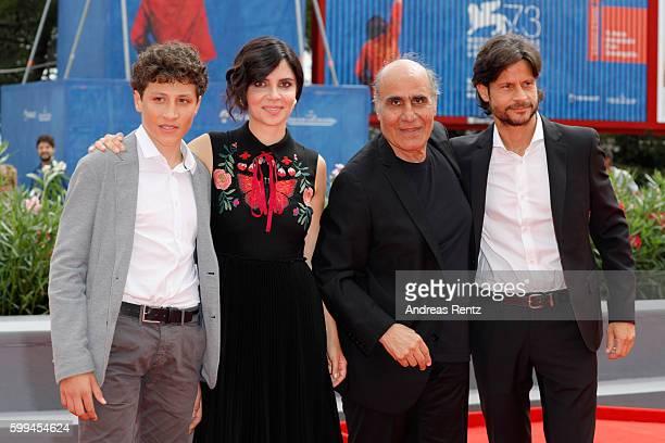 Zaccaria Zanghellini Claudia Potenza Amir Naderi and Andrea Sartoretti attend the JaegerLeCoultre Glory To The Filmmaker Award To Amir Naderi and...
